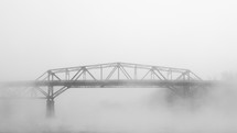 Bridge in the mist.