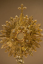 Monstrance with Host