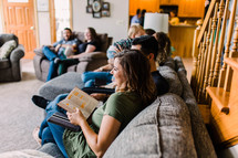 home Bible study group of families