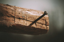 nail in a cross