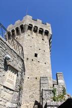 a castle tower