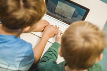 boys on a computer