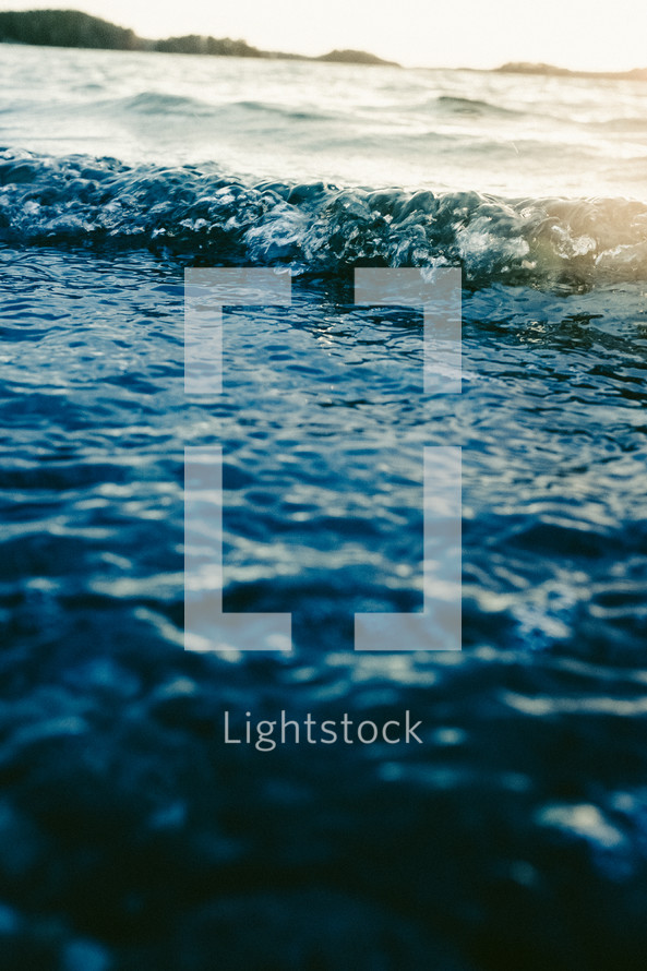 waves and water surface