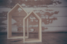 wooden house forms