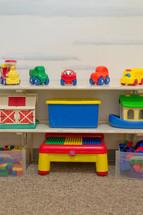toys in a preschool