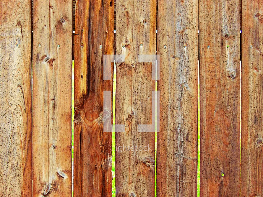 wood fence boards