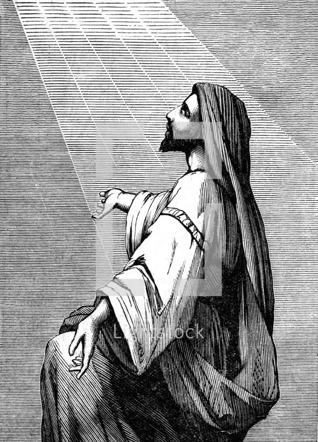 Elijah at prayer