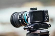 camera and lens