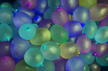 Balloons at a party