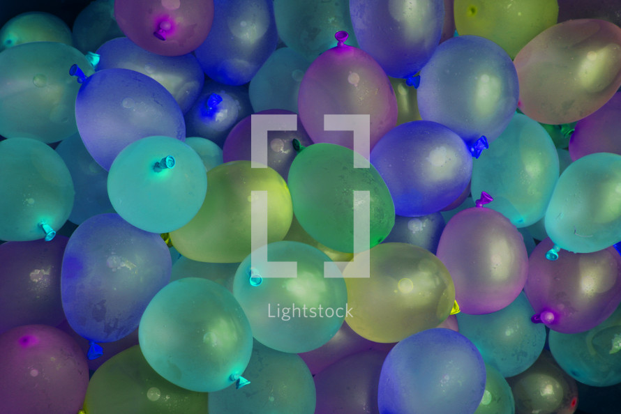 Balloons at a party
