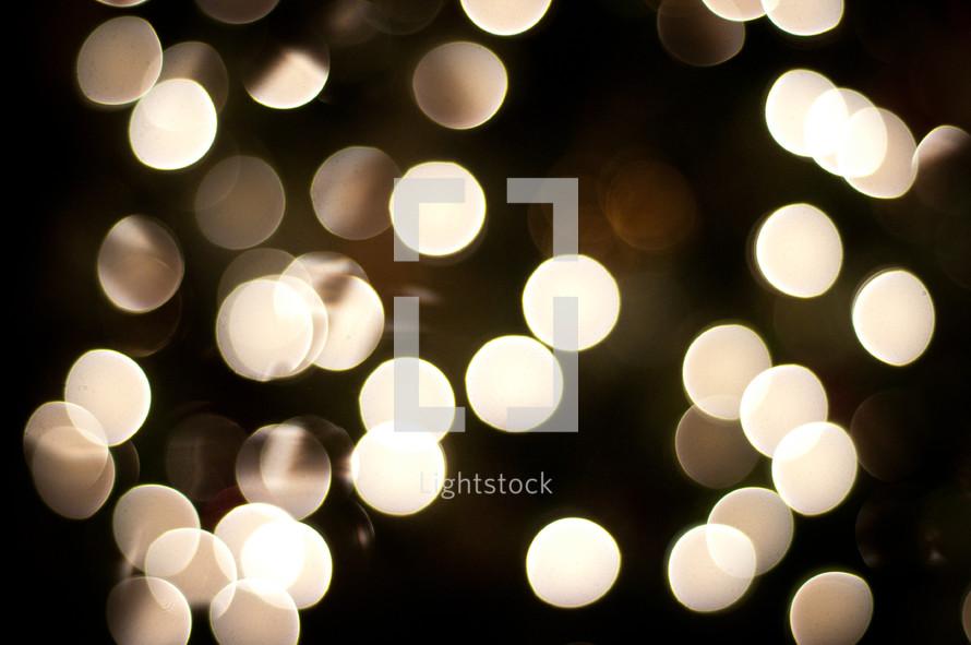 Sparkling lights.