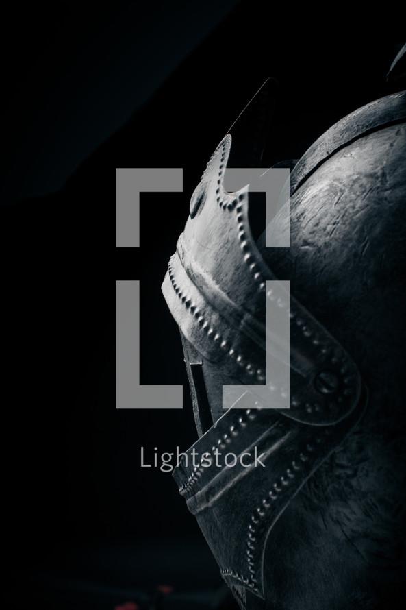 Armor mask.