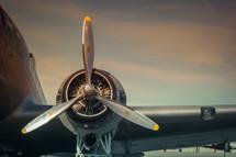 propellars on a plane