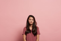 a mad teen girl