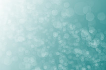 teal twinkling background