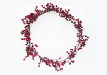 berry Christmas wreath