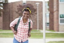 teen girl student