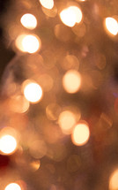 A Christmas bokeh background
