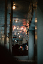 passengers on a train
