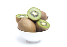 kiwi fruit in a bowl