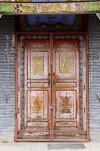 Exterior doors.