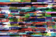 colorful abstract art with brush strokes