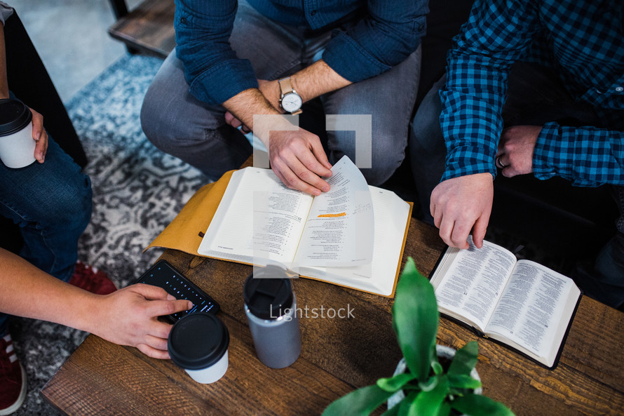 men's group Bible study