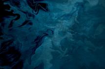 deep blue marbleized background