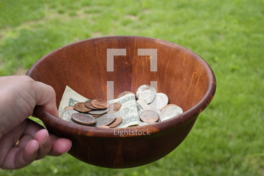 collection bowl