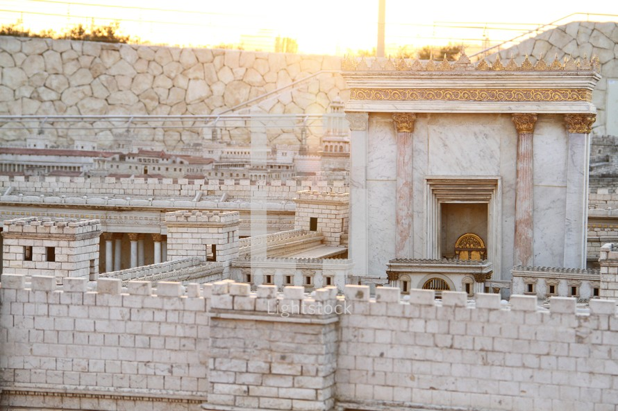 Model of the Temple from the time of Jesus Christ