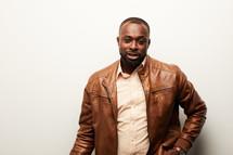 an African American man portrait