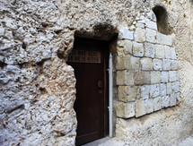 Door to a church in Jerusalem