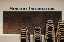 ministry information billboard