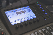 audio soundboard for tech team or media team ministry