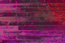 pink and fuchsia wood boards abstract background