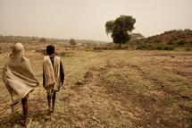 shepherds in Ethiopia