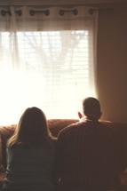 couple praying together