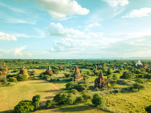 ancient pagodas and temples in Myanmar
