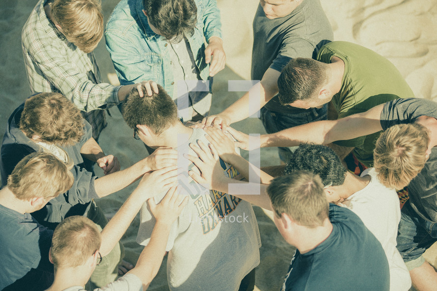 group prayer healing