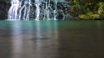 waterfall and swimming hole