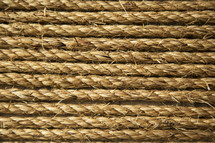 Strands of rope.