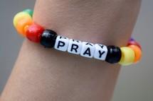 Pray beaded bracelet