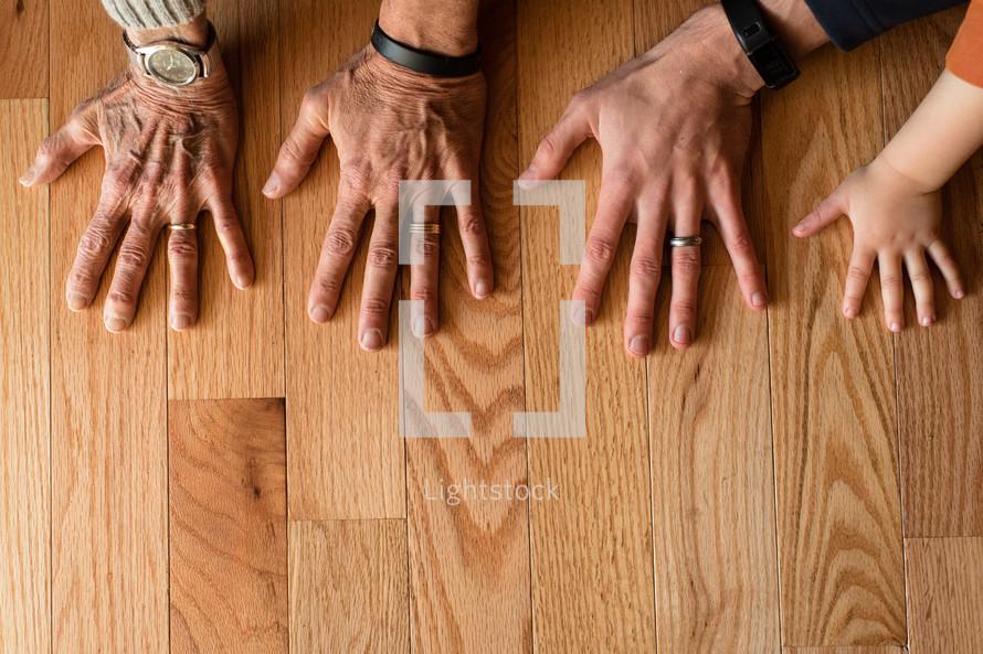 generation of hands