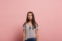 an angry teenager