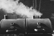 smoke from a grill