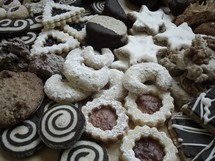 Cookie assortment.