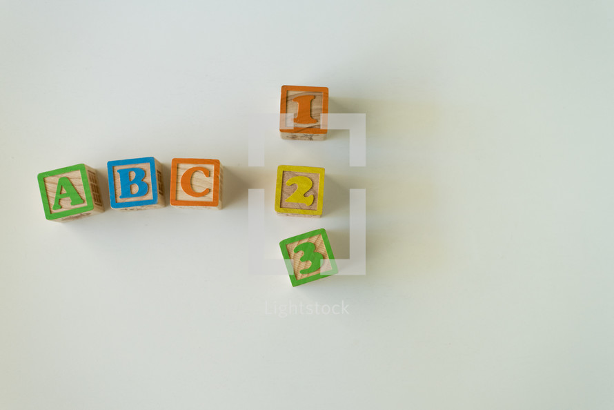ABC, 123