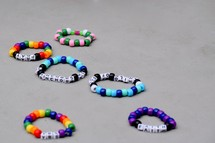 beaded bracelets made at VBS