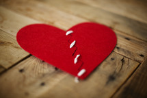 repaired broken heart