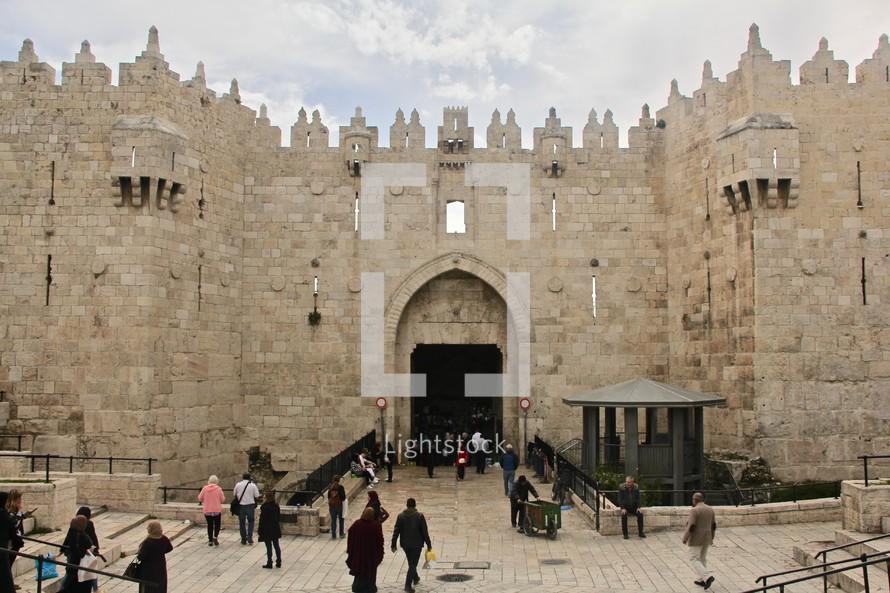 Damascus Gate Old City Jerusalem